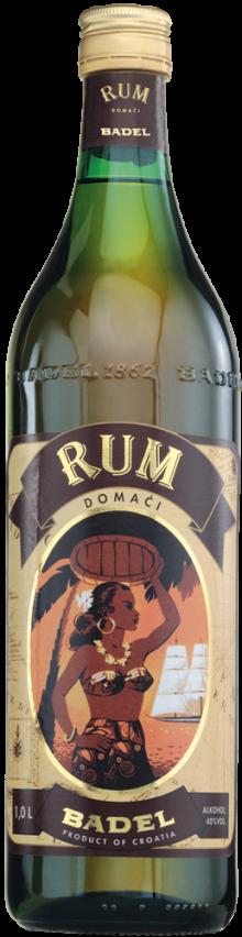Badel Domaci Rum Liqueur 1lt