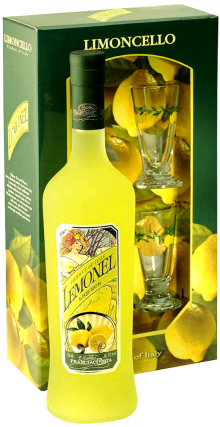 Lemonel Limoncello Glass Pack 750ml