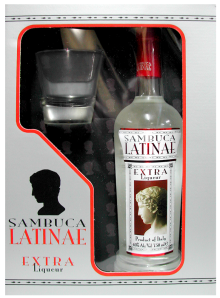 Sambuca Latinae Glass Pack 750ml