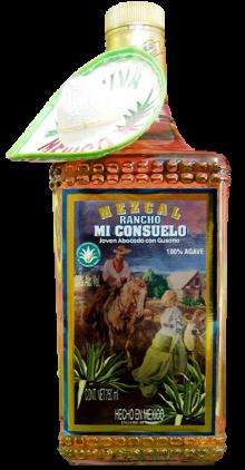 Mezcal Rancho Mi Consuelo Tequila 750ml