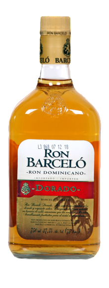 Ron Barcelo Dorado Rum 750ml