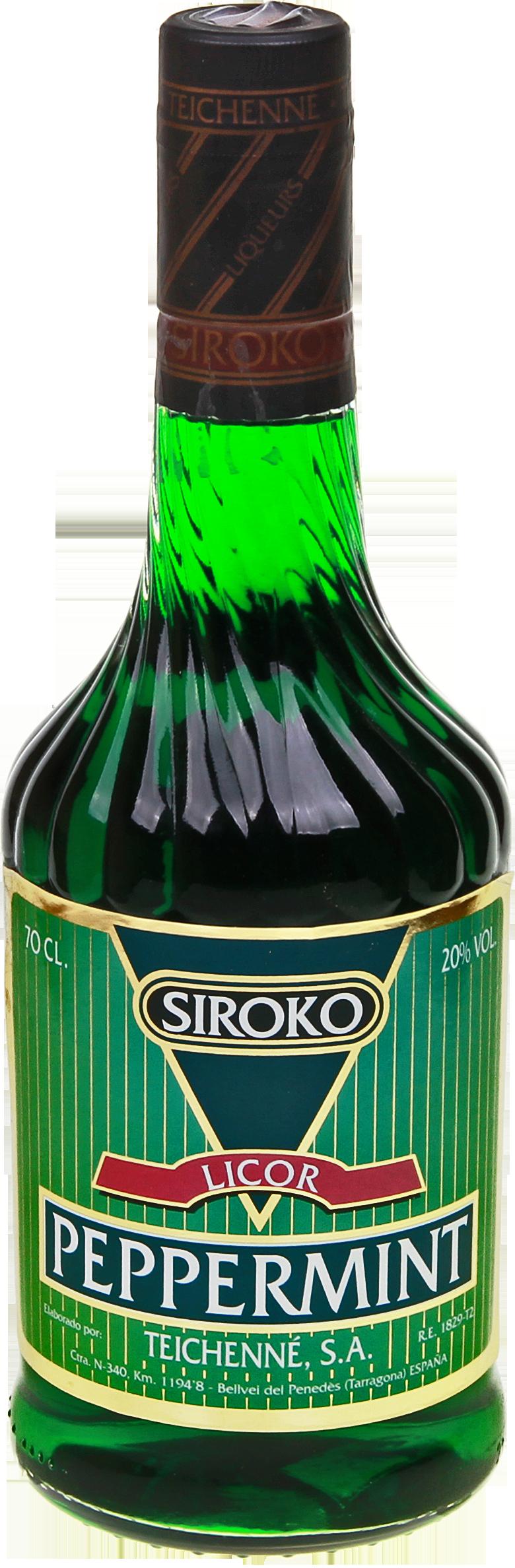 siroko peppermint liqueur