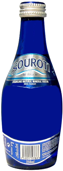Souroti Sparkling Mineral Water 250ml