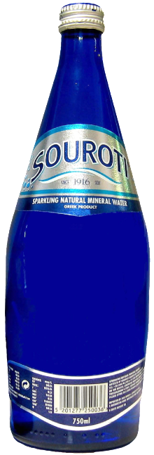Souroti Sparkling Mineral Water 750ml
