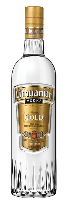 Lithuanian Gold Vodka 700ml