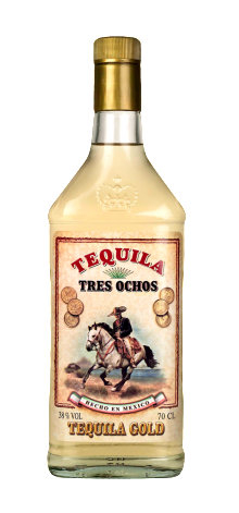 Tequila Tres Ochos Gold 700ml