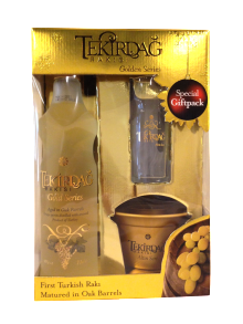 Tekirdag Gold Raki Gift Pack 700ml