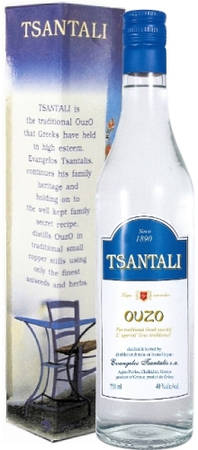 Tsantali Ouzo Gift Box 700ml