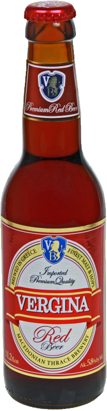Vergina Red Beer 330ml