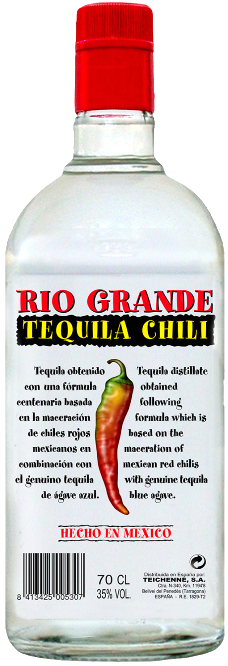Rio Grande Chili Tequila