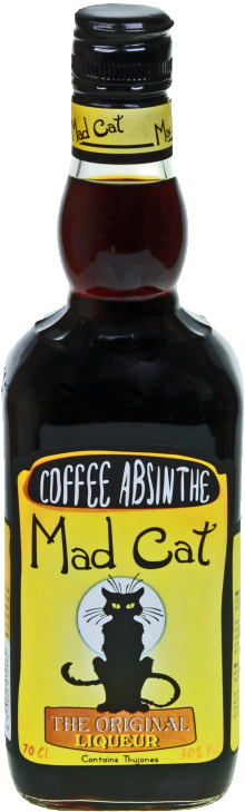 Absinthe Mad Cat Coffee Liqueur 700ml