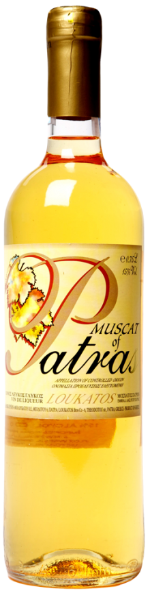 Loukatos Muscat of Patras 750ml