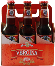 Vergina Red Beer 330ml - 6 Pack
