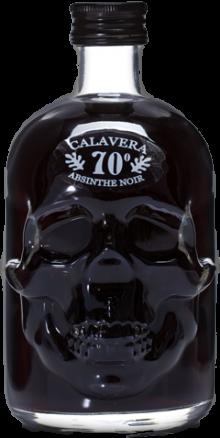 Calavera Skull Absinthe Black 500ml