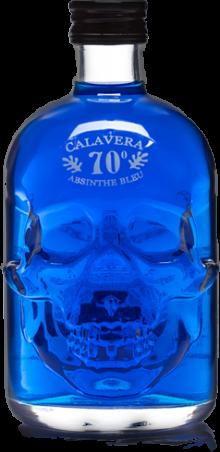 Calavera Skull Absinthe Blue 500ml