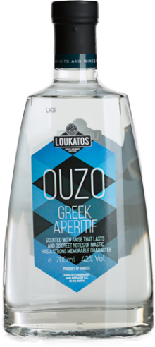 Loukatos Ouzo Greek Aperitif 700ml