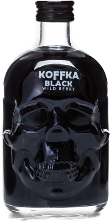 Koffka Skull Black Wild Berry Liqueur 500ml