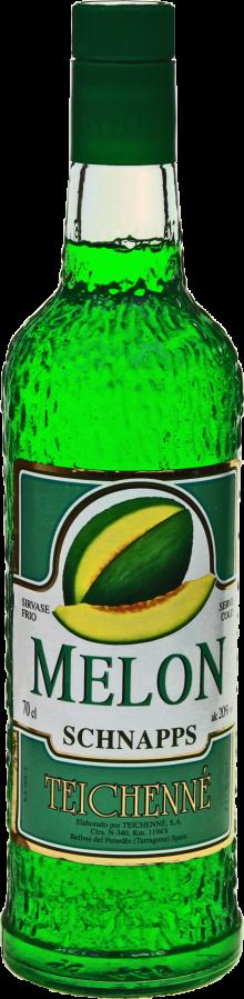 Teichenne Schnapps Green Melon 700ml