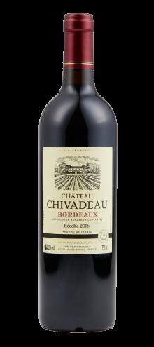 Chateau Chivadeau AOP Bordeaux Red 2016 750ml