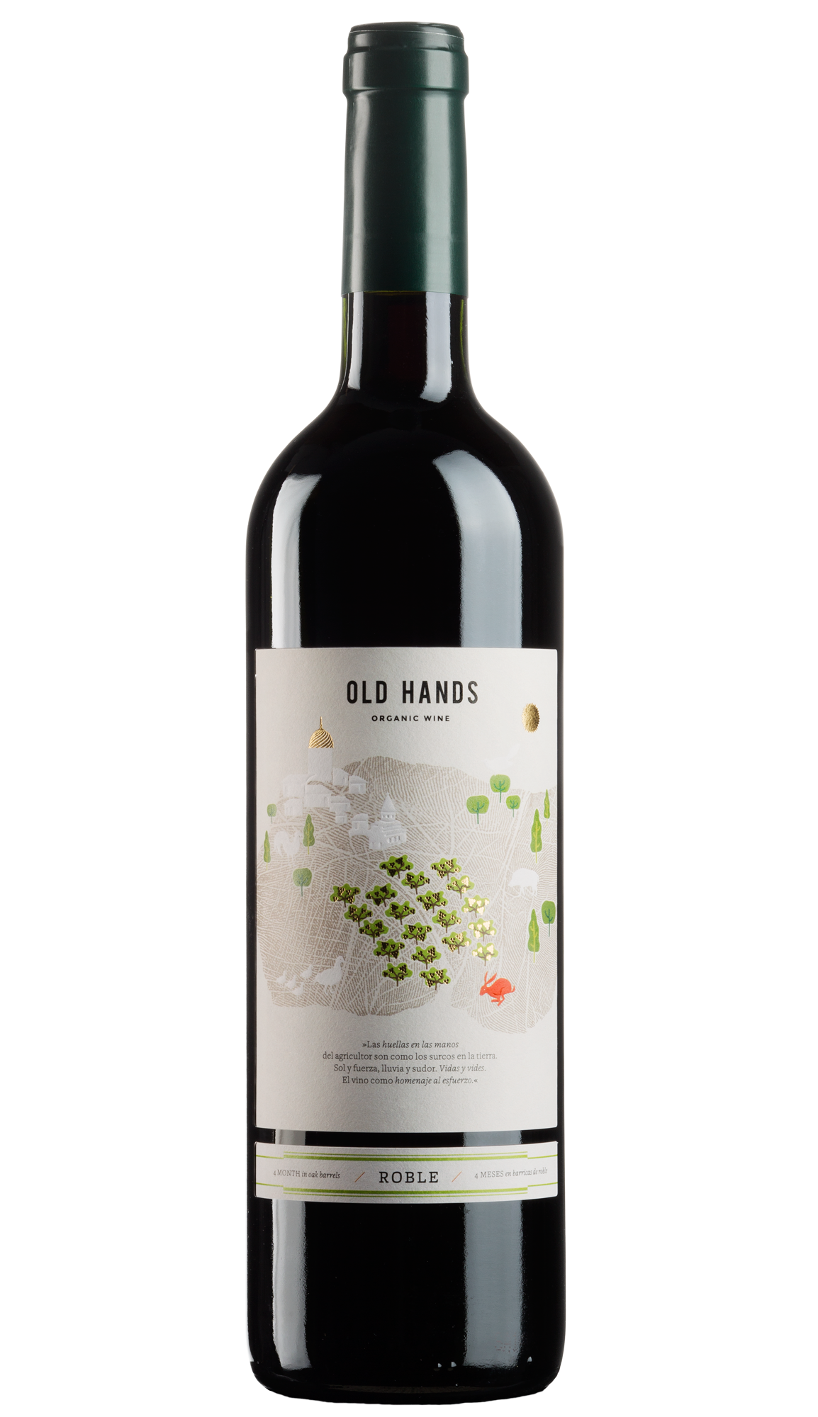 Old Hands Roble