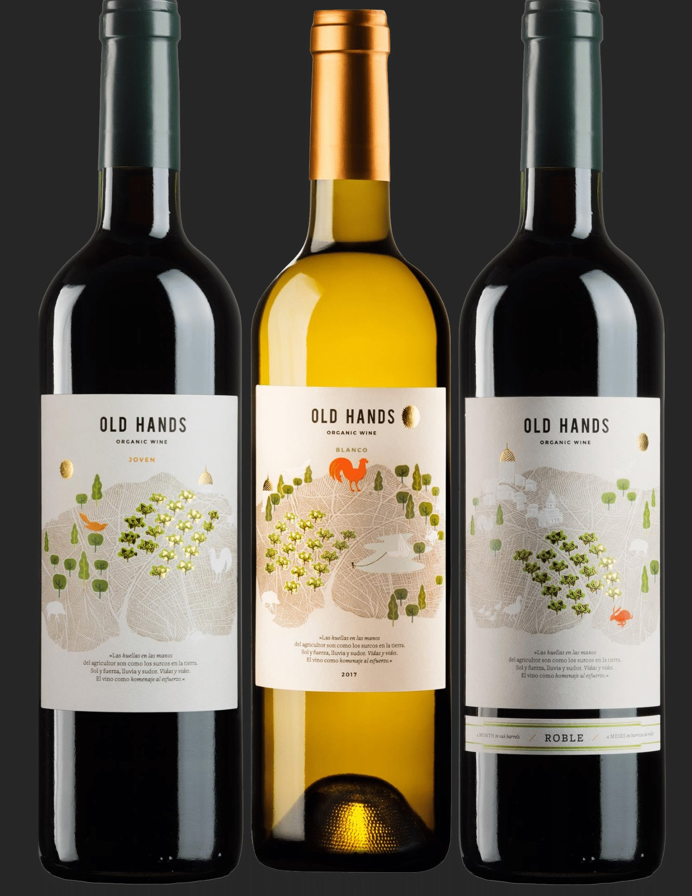 OLD HANDS ORGANIC WINE PACK