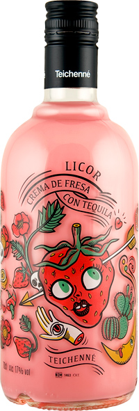 Strawberry Cream with Tequila 700ml