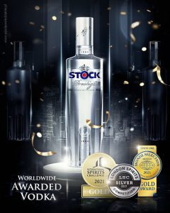 stock prestige vodka medal